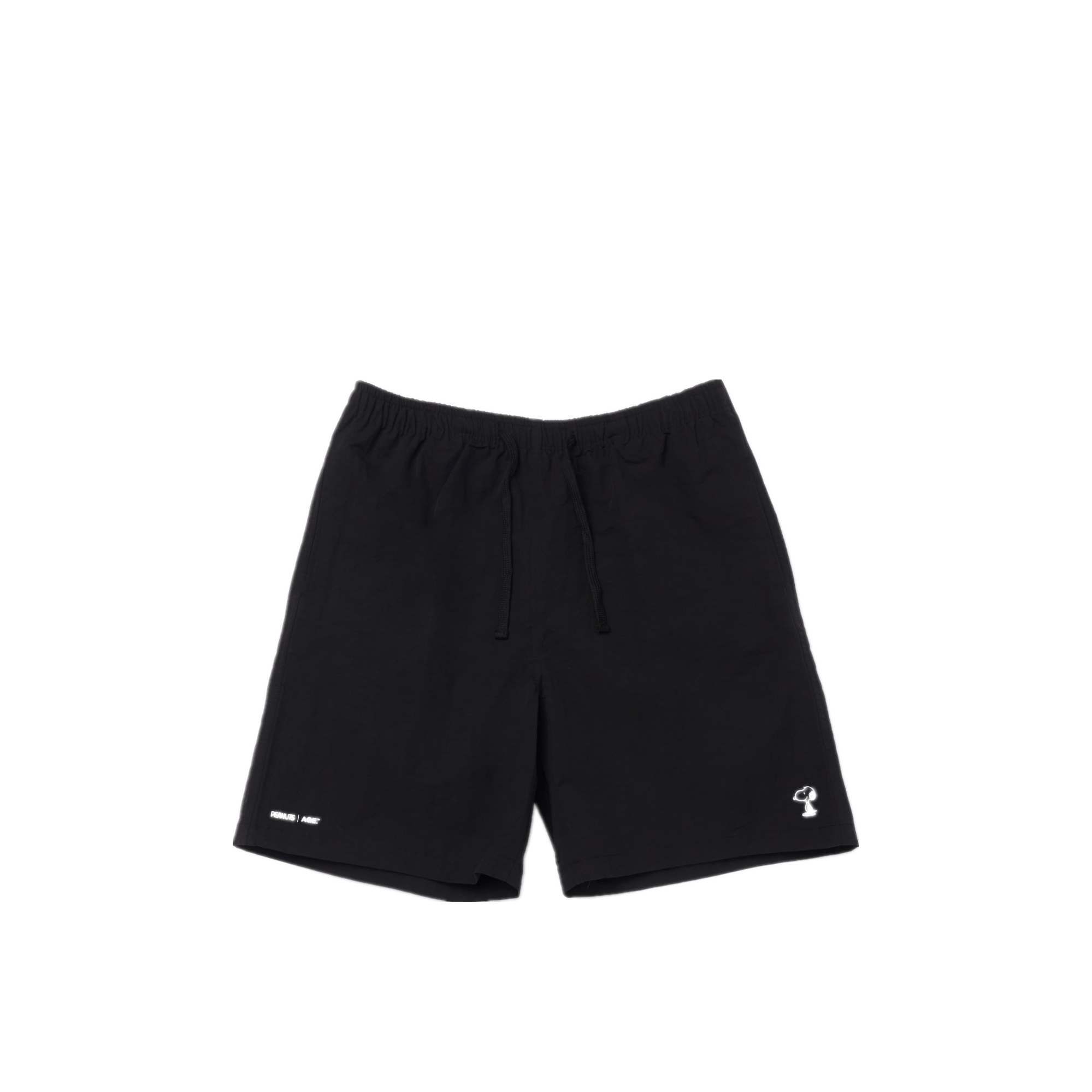 AGE X Snoopy Standing Shorts BK
